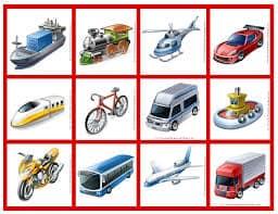 transportes para viajar