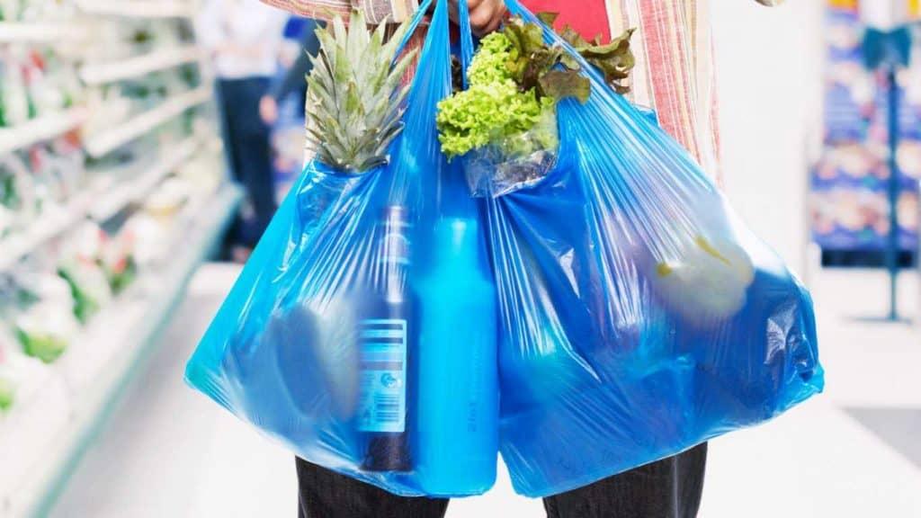 bolsas de plástico de pago