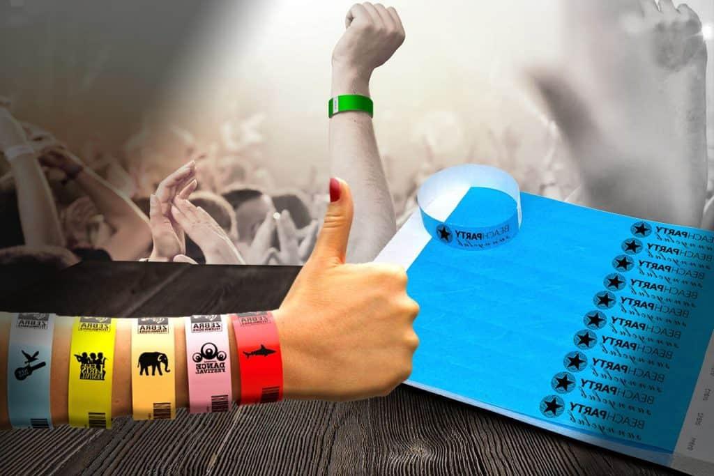 Quitar las pulseras de los festivales